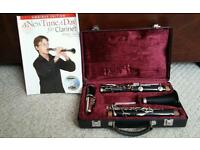 Clarinet made by Blessing