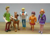 Large Scooby Doo Jointed Figures