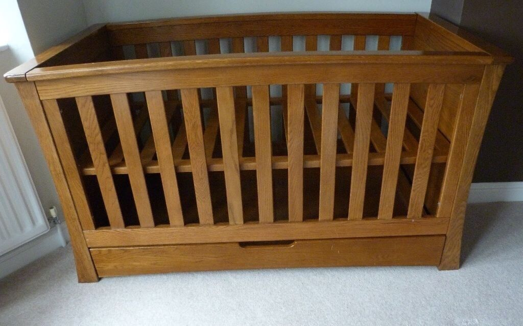 Mamas And Papas Ocean Cot Bed In Nuneaton Warwickshire