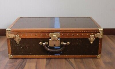 originale LOUIS VUITTON alzer valigia trunk vintage segunda mano  Embacar hacia Spain
