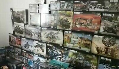 Call Of Duty COMPLETE MATTEL MEGA BLOKS All released 78 Sets Collector...