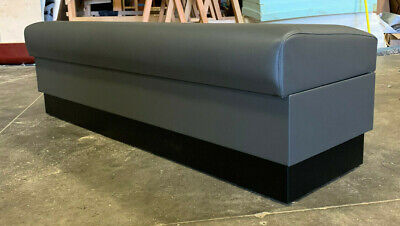 Restaurant Backless Upholstery Bench Made In Us. Any Size You Need