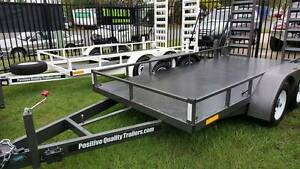 High Quality 14ft 4.5 Tonne Machinery Trailer Tandem axle Clontarf Redcliffe Area Preview