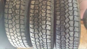 4-SAXON ice and snow tires w rims for sale