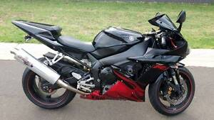 2002 Yamaha YZF-R1 with Special Edition Flame Fairings