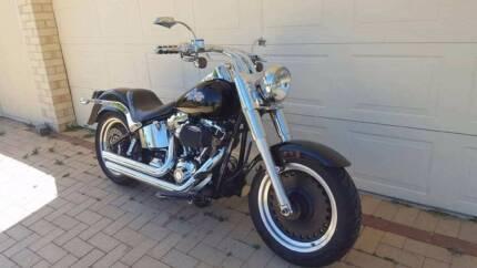 Harley Fatboy 110 ci Stage 4 Custom, $10 K on motor