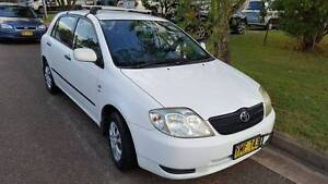 2002 Toyota Corolla Ascent 5 Speed Manual Picnic Point Bankstown Area Preview