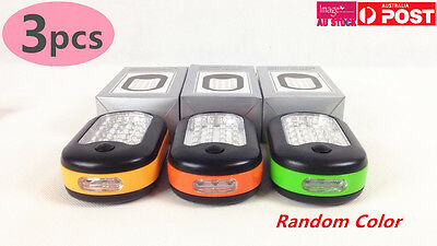 3x 27 LED Lamp with Magnet and Hook Magnetic Flashlight Outdoor Light
