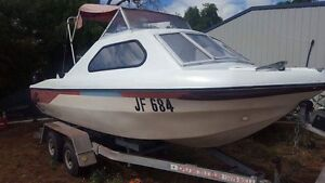 16 ft half cab fishing boat Glenelg Area Preview