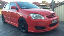 2005 Toyota Sportivo Corolla, Rego till Nov, CLEAN Greenfield Park Fairfield Area Preview