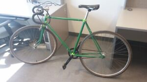 Full Size Folding Fixed Gear Fixie Bicycle