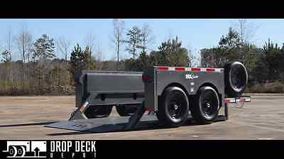 2019 Anderson Hgl7610 Hydraulic Drop Deck Scissor Lift Trailer 6 X 10