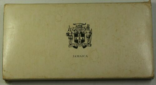 1974 Jamaica 8 Coin Proof Set .925 Silver $10 and $5 Coins Franklin Mint W/ COA