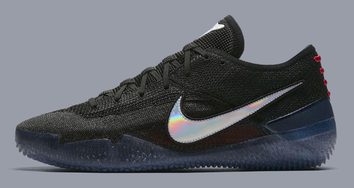 new styles fc47b 3b1a3 AQ1087-001. Nike Kobe AD NXT 360 Mamba Day Size 8. Black Red Green. AQ1087-