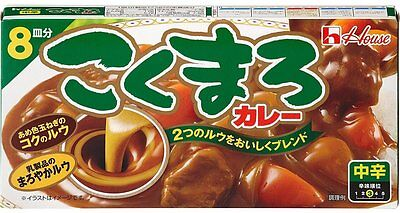 HOUSE☆Japan-Kokumaro Japanese MEDIUM Curry Roux (8 servings) 140g ,JAIP