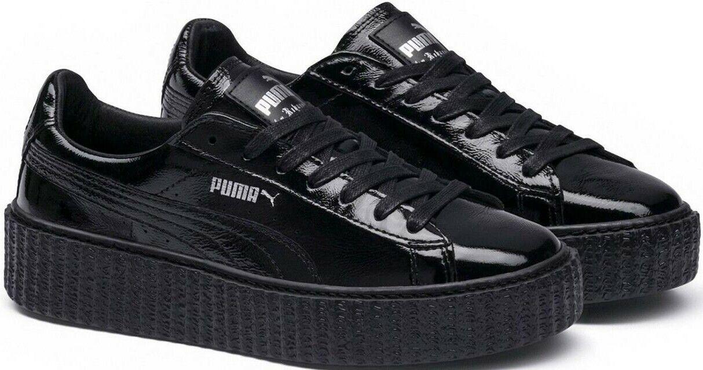 Puma Fenty by Rihanna Creeper Wrinkled Patent Damen Sneaker Gr. 40