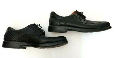 Johnston & Murphy XC4 Waterproof 'Stanton' Black Calf Leather Shoes UK 11