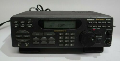 Uniden CB Radio Bearcat Trunktracker III 3 Scanner PC68XL Police Fire EMS