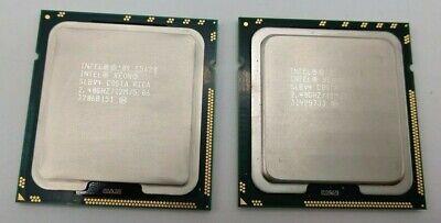 Intel Xeon E5620 2.4GHz Quad Core 12M Socket 1366 LGA1366 CPU Processor SLBV4