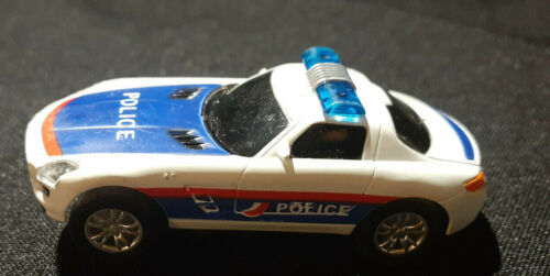 1:64 AGM Mercedes SLK Police Car RWB  (Read Description)