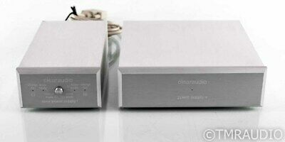 Clearaudio Balance+ MC Balanced Phono Preamplifier; w/ Accu+ Battery Pack