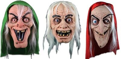 Halloween EC Comics Collection - Crypt / Vault Keeper & Old Witch SET OF 3 Masks