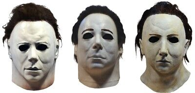 Halloween 1978, 4 & 5 Michael Myers Trick or Treat Studios ALL 3 Masks Pre-Order