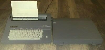 Smith Corona Electronic Electric Typewriter Sl470--working Condition With Ribbon