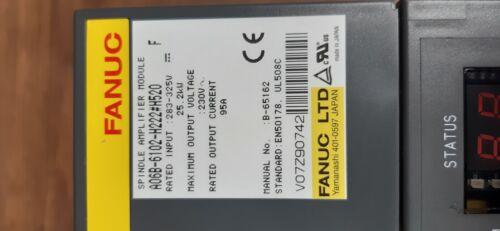 Fanuc Spindle Amplifier Module A06B-6102-H222 # H520