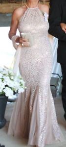 Special occasion . wedding or prom Dress very chic $200.00