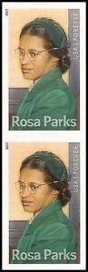 US-4742-Rosa-Parks-imperf-no-die-cut-vertical-pair-MNH-2013