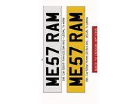 DODGE RAM HEMI 5.7 NUMBER PLATE