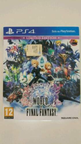 World of Final Fantasy Limited Edition PS4