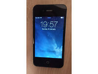 Iphone 4S - Black - 16GB - EE or Virtual ones Like Virgin + New Charge Cable