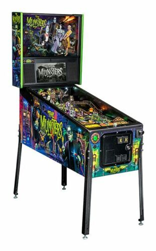 NEW Stern Munsters PRO Pinball Machine  Free Shipping In Stock Ships today!