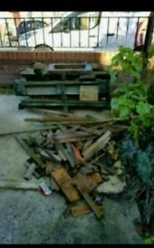 Free wood for burning