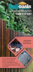 Bamboo fencing privacy screen Ourimbah Wyong Area Preview