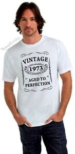 ... AGED TO PERFECTION T-shirt 40th BIRTHDAY Present Gift 40 years old