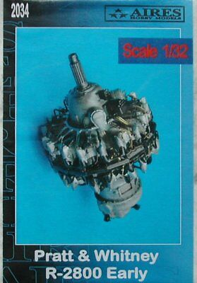 Aires 1/32 Pratt Whitney R-2800 Early Engine 2034