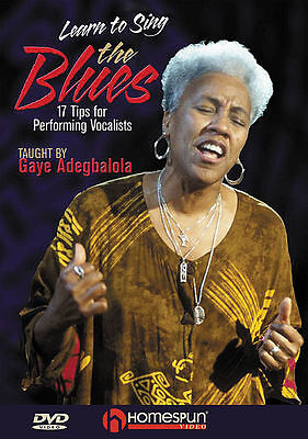 LEARN TO SING BLUES MUSIC - VOCAL LESSON *NEW* DVD