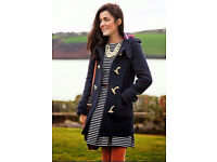 Jack wills wool duffle coat size 12