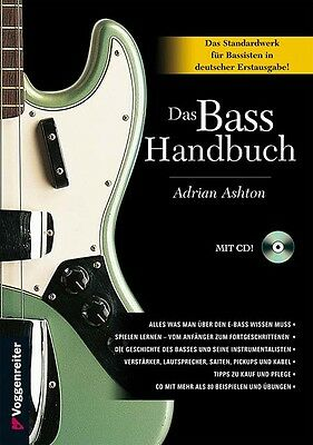 Das BASS-HANDBUCH, unverzichtbares Werk für Bassisten aller Fähigkeitsstufen NEU