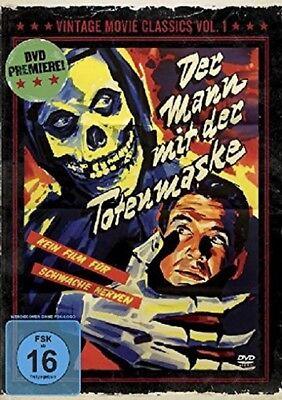 The Man Mit Der Death Mask 1946 the Crimson Ghost Charles Quigley DVD - The Crimson Ghosts Halloween