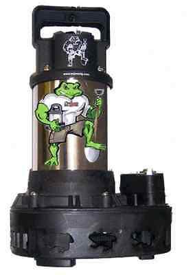 Anjon Big Frog Bfp6300 Submersible Pump 6,300 Gph Reliabl...