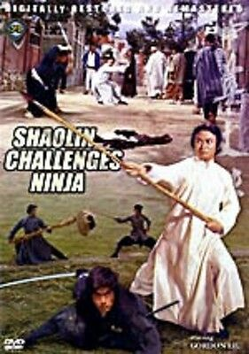 Shaolin Challenges Ninja  -Hong Kong RARE Kung Fu Martial Arts Action movie - NE