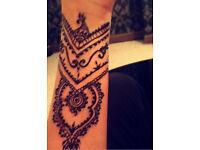 Professional mendhi/henna artist