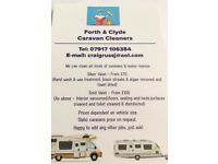 Forth & Clyde Caravan Cleaners - for all you mobile home cleaning requirements