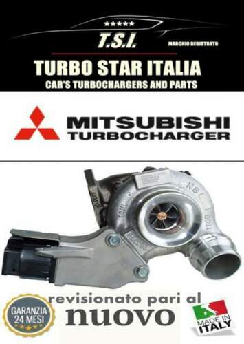 TURBINA TURBOCOMPRESSORE BMW 120D 320D 177CV...