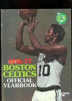 Boston Celtics 1976-77 Team Yearbook