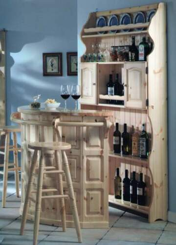 Mobile bar / tavernetta in legno massello